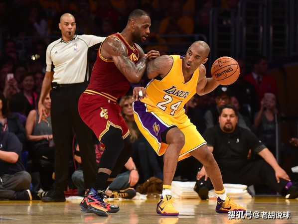 美媒评NBA篮球技术前十球员,科比位列第四,詹姆斯排名惹争议