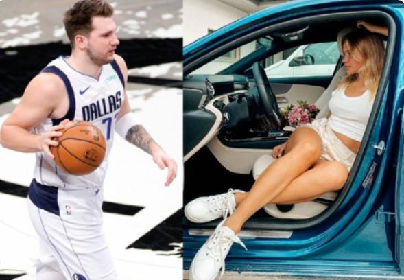 NBA东契奇拿重金合同!5年赚13亿,22岁人生赢家,与美女初恋相爱至今
